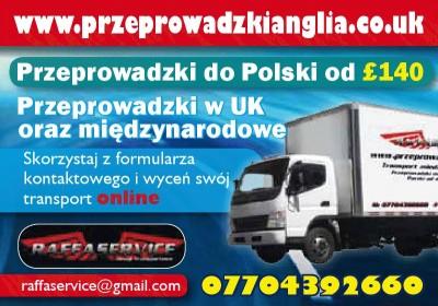 przeprowadzki do polski,przeprowadzki peterborough