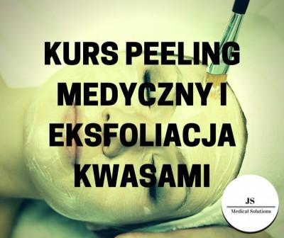Kurs peeling medyczny i eksfoliacja kwasami