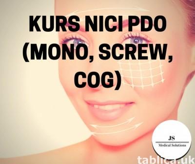Kurs nici PDO (mono, screw, COG)