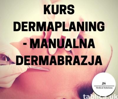 Kurs dermaplaning – manualna dermabrazja