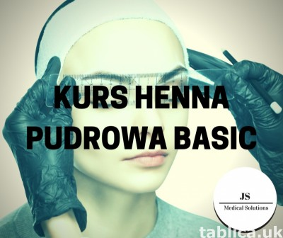Kurs Henna pudrowa Basic