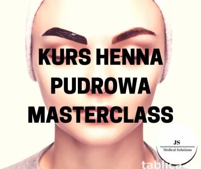Kurs Henna pudrowa Masterclass
