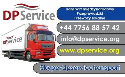 Oferuję transport z/do Polski, cała Europa Zach.