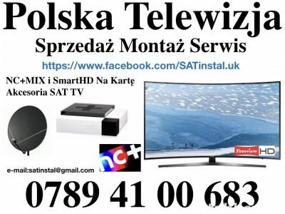 polska tv satelitarna servis montaż