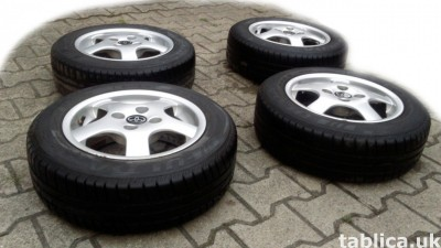 For Sale: a Set of Summer Tires: Fulda Eco Control