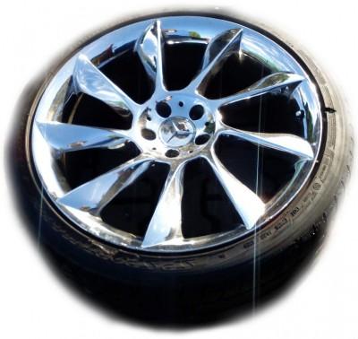 Set of Tires ContiSportContact for Mercedes Mclaren