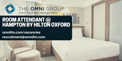 PRACA W HOTELU - Oxford!
