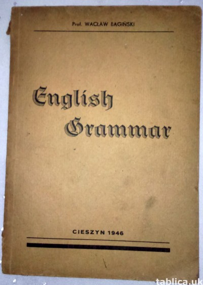 For Sale: E-Book: English Grammar - Wacław Bagiński