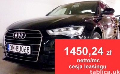 AUDI A6 2.0 TDI- CESJA LEASINGU -1450,24 zł netto/mc