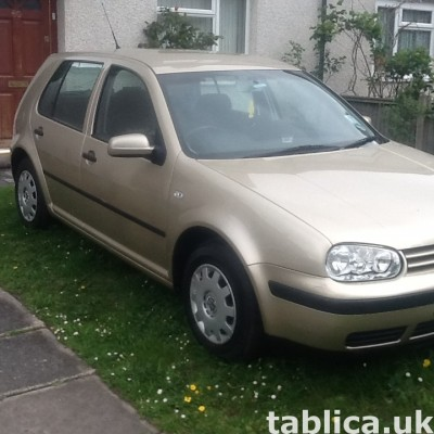 Okazja! Volkswagen Golf 2002 1.6 proszę dzwon  07821293750