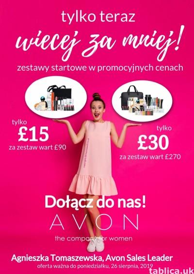 Jak zostać konsultantką Avon w UK