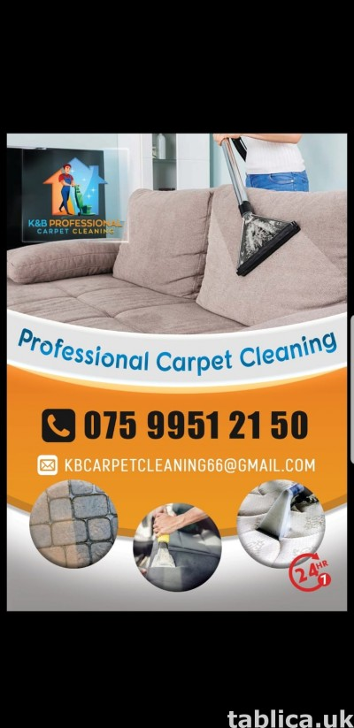 Professional Carpet Cleaning Service 24h