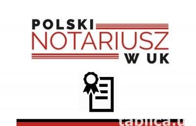 Polski Notariusz W UK / Czerwinska Group