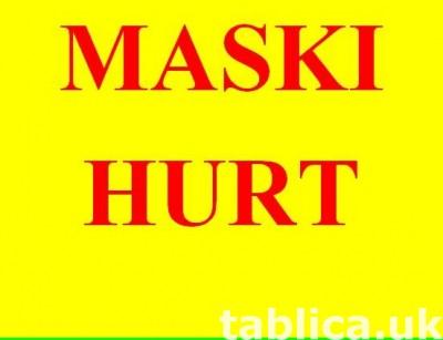 Maski ochronne maseczki. 3 warstwowe. Protective masks