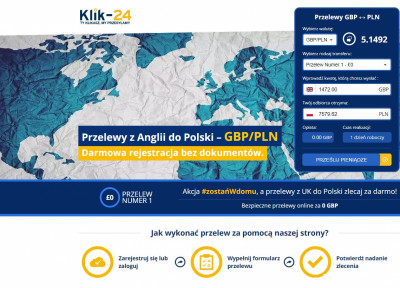 Transfery pieniężne z UK do Polski