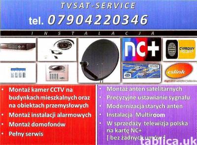 Profesjonalny montaż anten, monitoringu, domofonów, alarmów