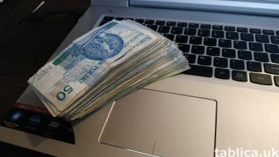 praca zdalna, nowy biznes, wysokie zarobki 5000euro