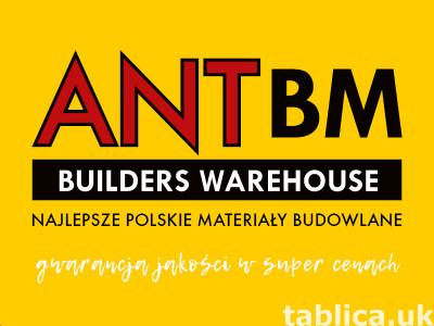 Najlepsze materiały i narzędzia tylko w ANT BM !