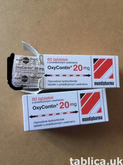 Oxycontin 80mg Oxycodone Oksykodon odsprzedam po leczeniu