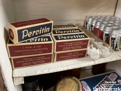 Pervitin , for sale .
