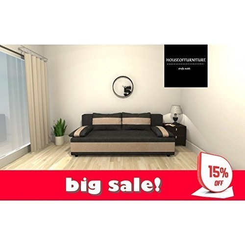 BRAND NEW SOFA BED WERSALKA STORAGE BOX CORNER SAMBOR 0