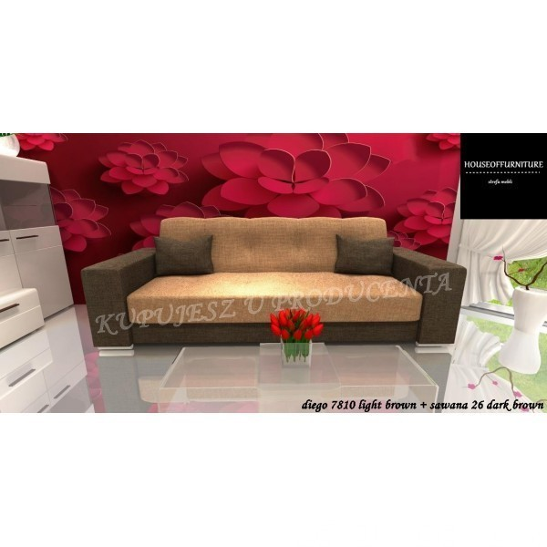 BRAND NEW SOFA BED WERSALKA STORAGE BOX CORNER CARLA 2