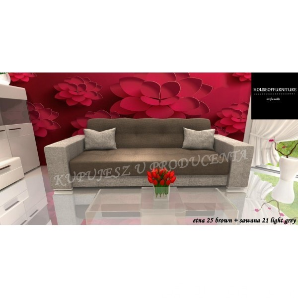 BRAND NEW SOFA BED WERSALKA STORAGE BOX CORNER CARLA 5