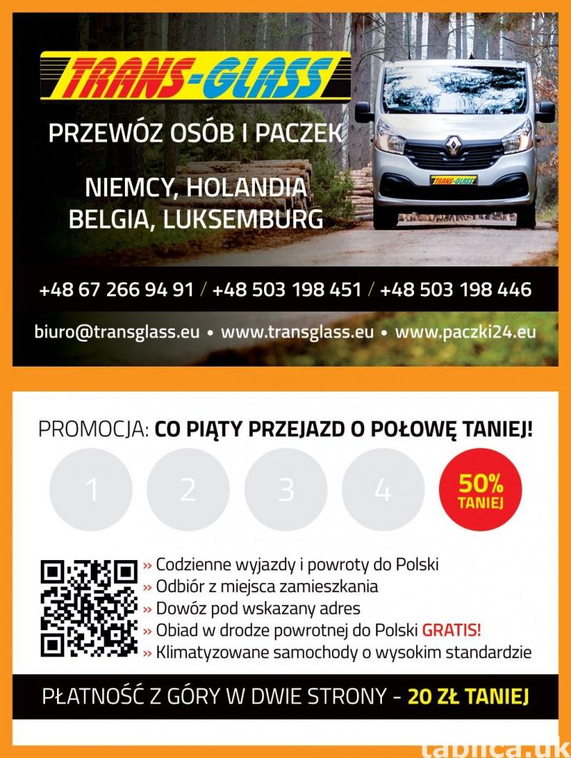 Paczki/Przesyłki/Transport Osób >> DOOR to DOOR<< 5