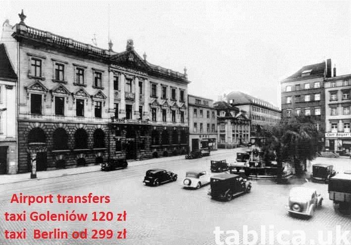 Transfer  lotniska Berlini i Goleniow a Szczecin i okolice. 0