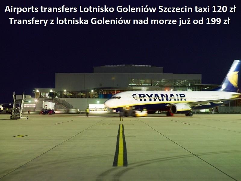 Transfer  lotniska Berlini i Goleniow a Szczecin i okolice. 3