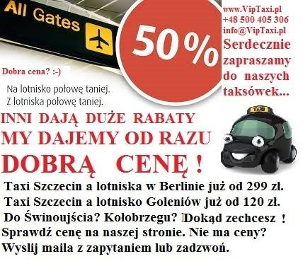 Transfer  lotniska Berlini i Goleniow a Szczecin i okolice. 6