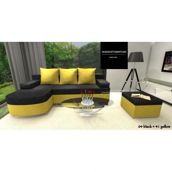 SOFA BED WERSALKA CORNER HELIOS,ANY COLOUR SCHEME, BONELL  4