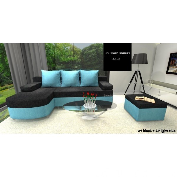 SOFA BED WERSALKA CORNER HELIOS,ANY COLOUR SCHEME, BONELL  8
