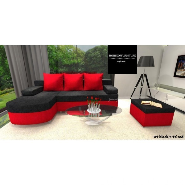 SOFA BED WERSALKA CORNER HELIOS,ANY COLOUR SCHEME, BONELL  10