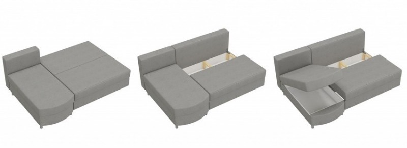 SOFA BED WERSALKA CORNER HELIOS,ANY COLOUR SCHEME, BONELL  11