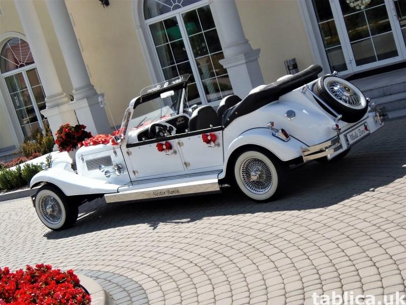 AUTO Samochód do ślubu zabytkowy kabriolet Alfa Romeo Nestor 3