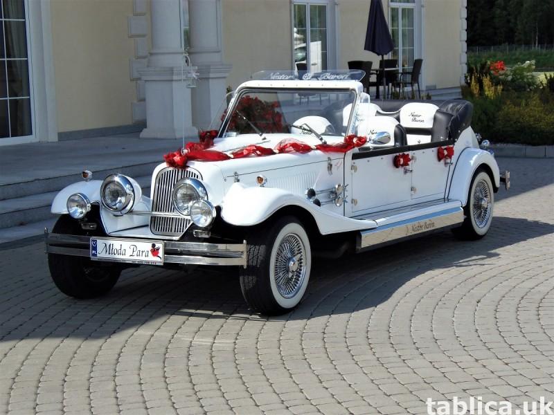 AUTO Samochód do ślubu zabytkowy kabriolet Alfa Romeo Nestor 4