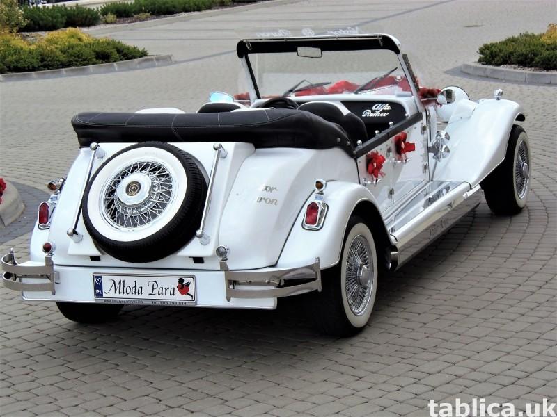 AUTO Samochód do ślubu zabytkowy kabriolet Alfa Romeo Nestor 6