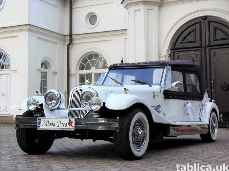 AUTO Samochód do ślubu zabytkowy kabriolet Alfa Romeo Nestor 7