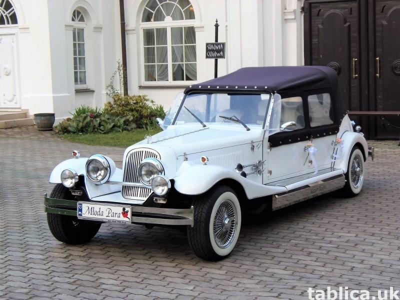 AUTO Samochód do ślubu zabytkowy kabriolet Alfa Romeo Nestor 10