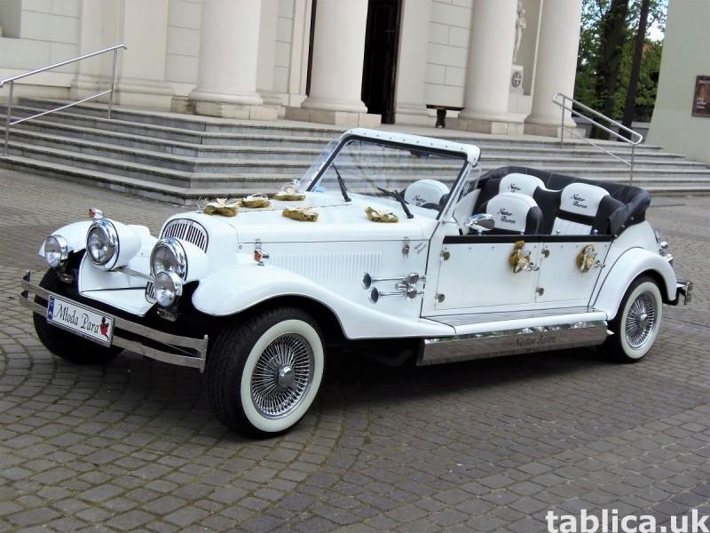 AUTO Samochód do ślubu zabytkowy kabriolet Alfa Romeo Nestor 11