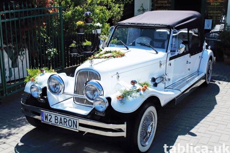 AUTO Samochód do ślubu zabytkowy kabriolet Alfa Romeo Nestor 13