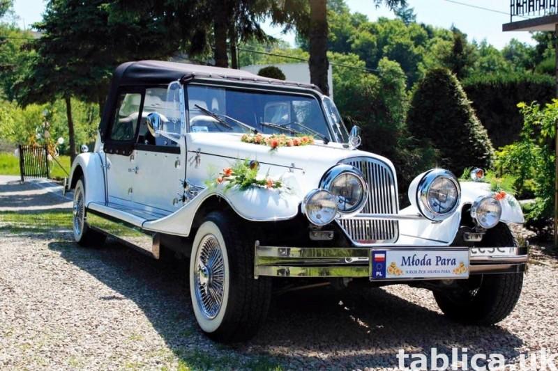 AUTO Samochód do ślubu zabytkowy kabriolet Alfa Romeo Nestor 15