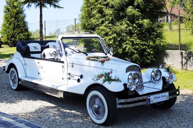 AUTO Samochód do ślubu zabytkowy kabriolet Alfa Romeo Nestor 16