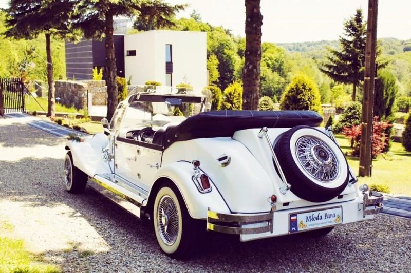 AUTO Samochód do ślubu zabytkowy kabriolet Alfa Romeo Nestor 18