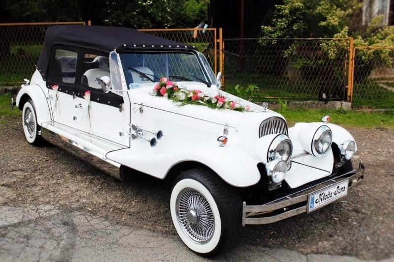 AUTO Samochód do ślubu zabytkowy kabriolet Alfa Romeo Nestor 20