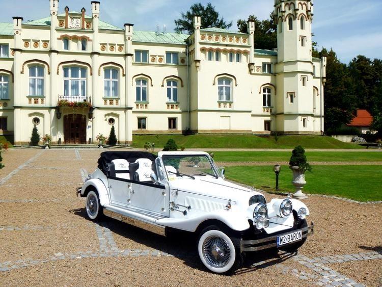 AUTO Samochód do ślubu zabytkowy kabriolet Alfa Romeo Nestor 21