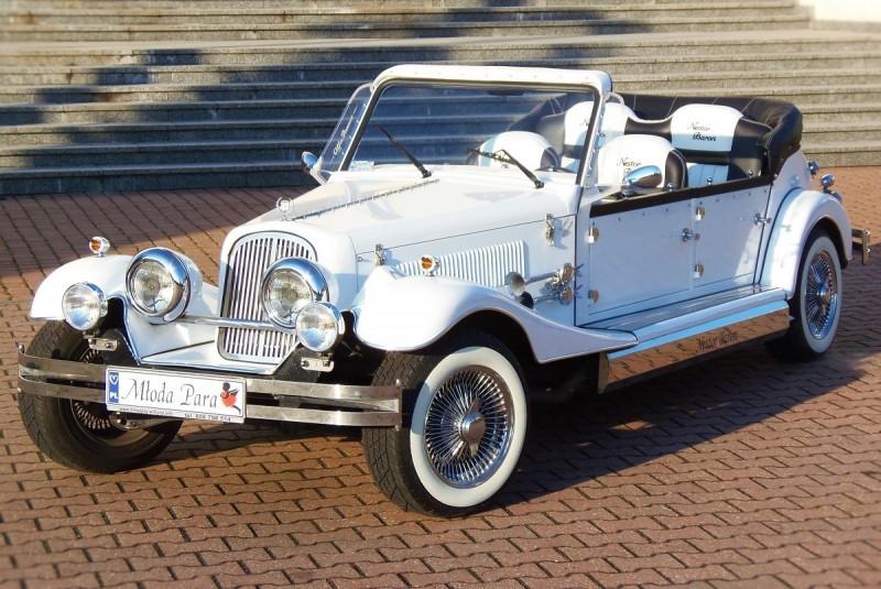 AUTO Samochód do ślubu zabytkowy kabriolet Alfa Romeo Nestor 25