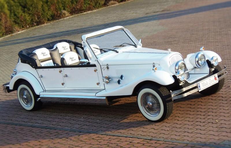 AUTO Samochód do ślubu zabytkowy kabriolet Alfa Romeo Nestor 26