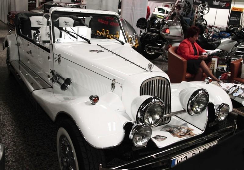 AUTO Samochód do ślubu zabytkowy kabriolet Alfa Romeo Nestor 27
